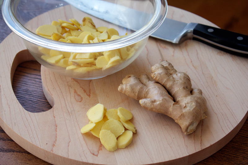 Homemade Ginger Syrup || A Less Processed Life