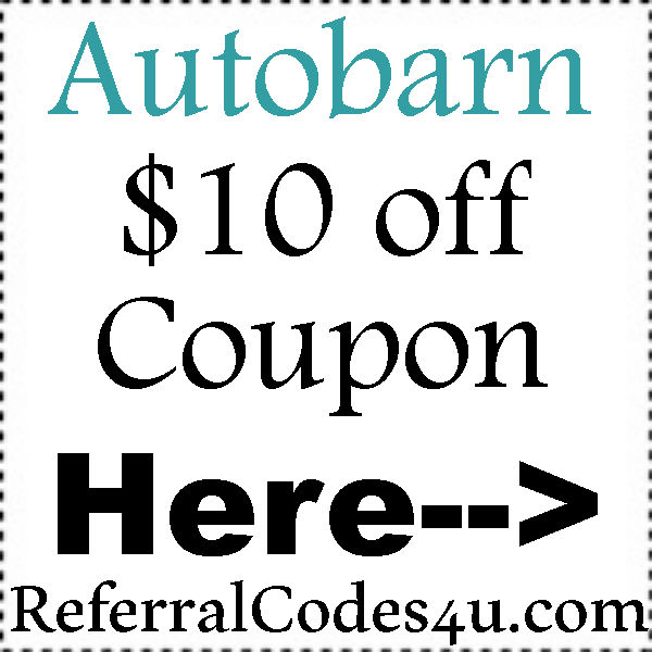 Autobarn Coupon Code April, May, June, July, August, September, October 2017