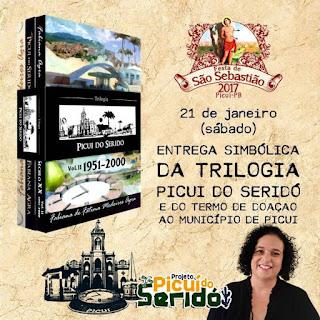 Escritora e Jornalista Picuiense doará livros à Secretaria de Educação de Picuí