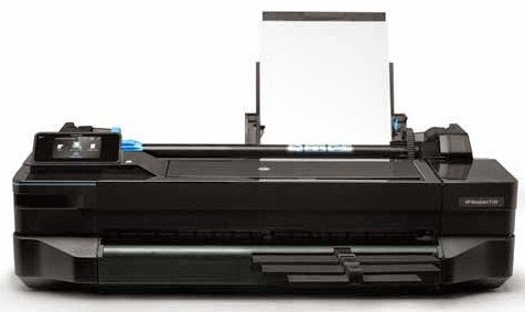 HP DesignJet T120 ePrinter Drivers Download