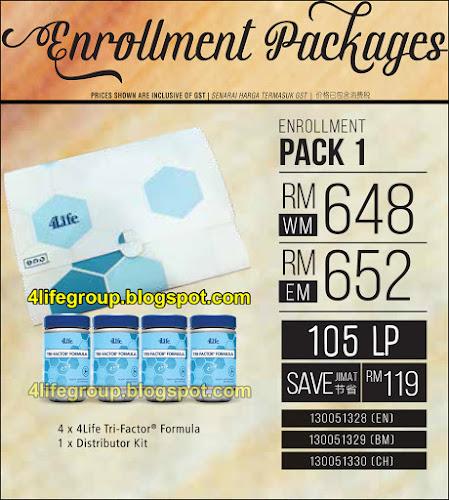 foto Pek Enrollment 1 4Life Malaysia