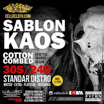 Jasa Sablon & Konveksi Kaos | Clothing Maker