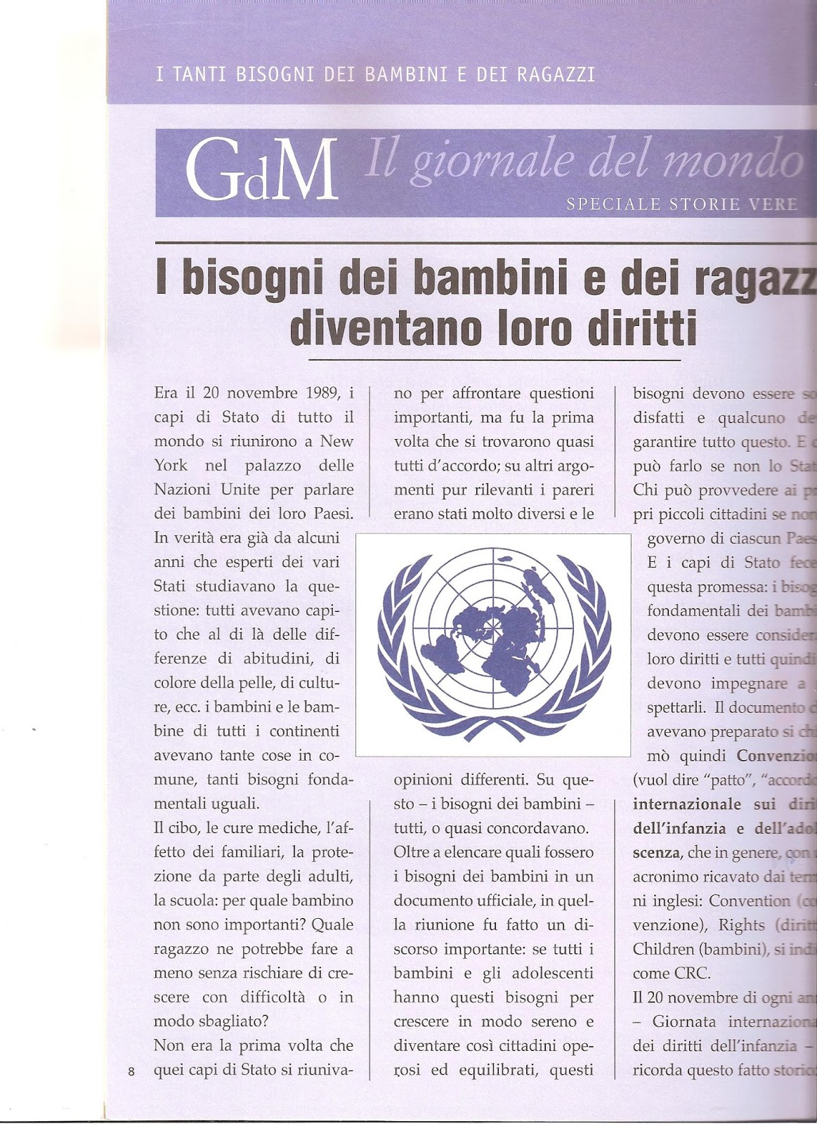 Diritti e doveri dei bambini schede didattiche ci33 for Maestra gemma diritti dei bambini