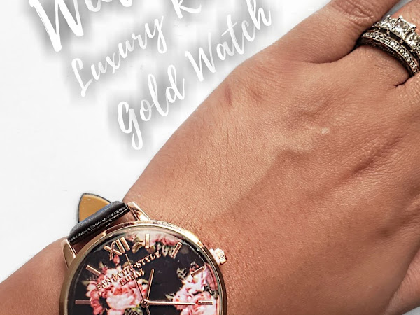 Wiitake Collection Rose Gold Womens Watch