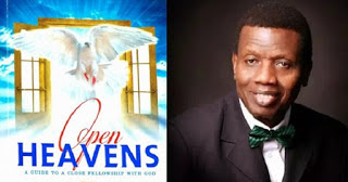 Open Heavens Daily Devotional 15th October 2016
