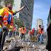 """Alcaldía de Caroní realizó """"Ruta de la Paz"""" con recolección de escombros dejados por protestas opositoras"""