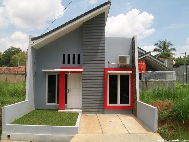 denah dan rencana model atap rumah minimalis