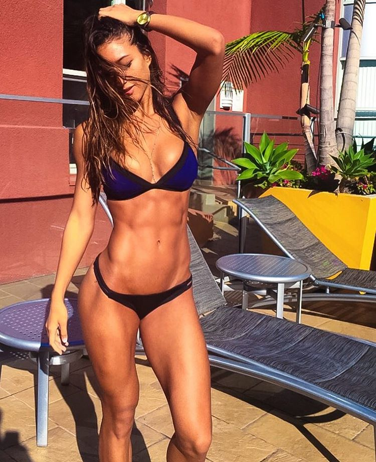 Fitness Model Karina Elle Lisenbee