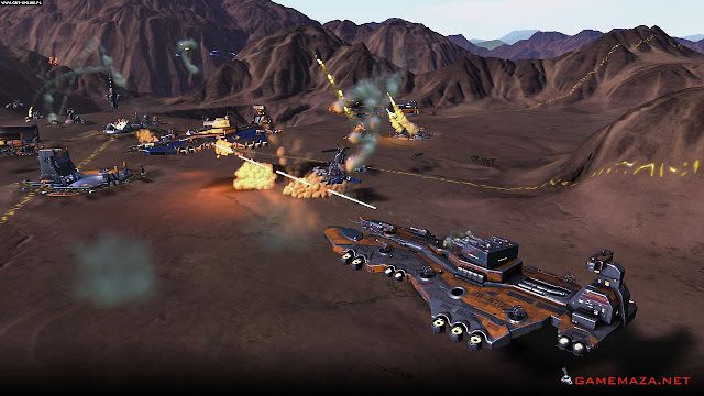 Ashes of the Singularity Gameplay Screenshot 1