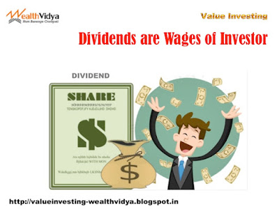 Investor Happy at the Raining Dividends from His Investments