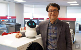 Individuals would prefer not to converse with LG's huge benevolent robots