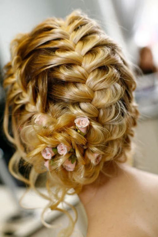 Wedding  Trends Braided  Hairstyles  Part 2 Belle The