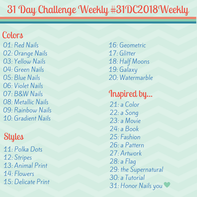 #31DC2018Weekly theme prompts - McPolish