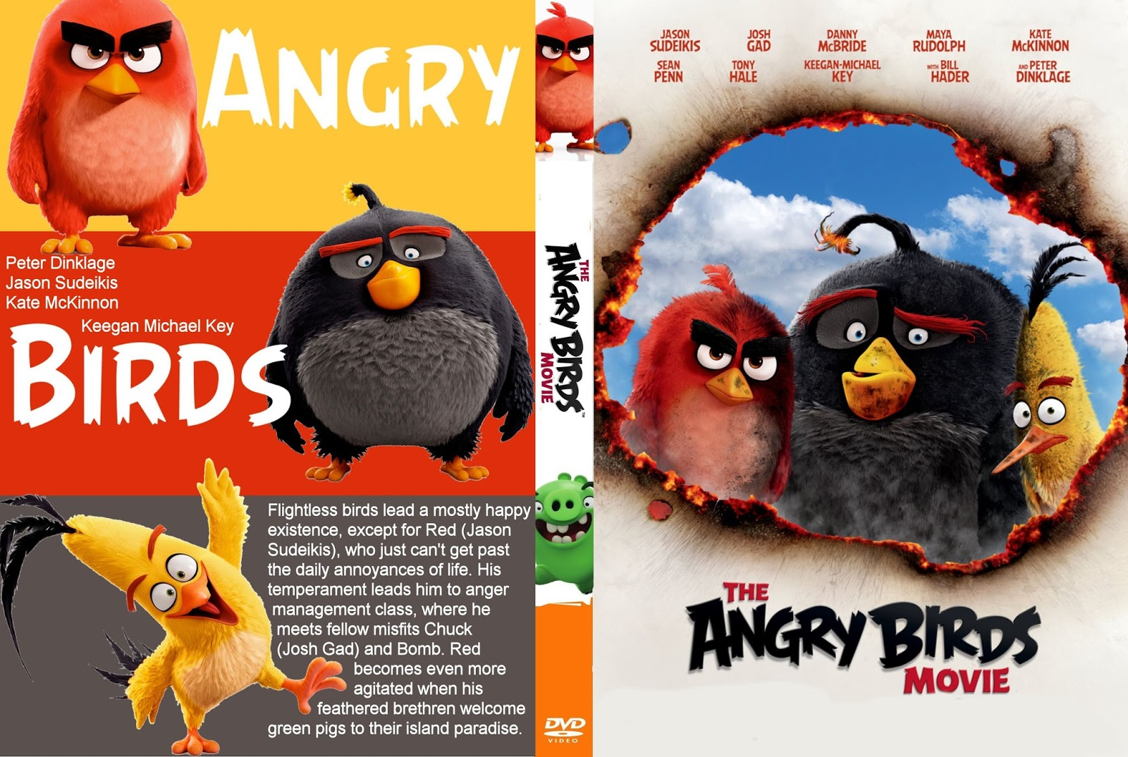 Angry Birds O Filme DVD-R Angry 2BBirds 2B  2BXANDAODOWNLOAD