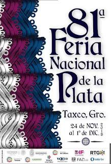 feria nacional de la plata taxco 2018