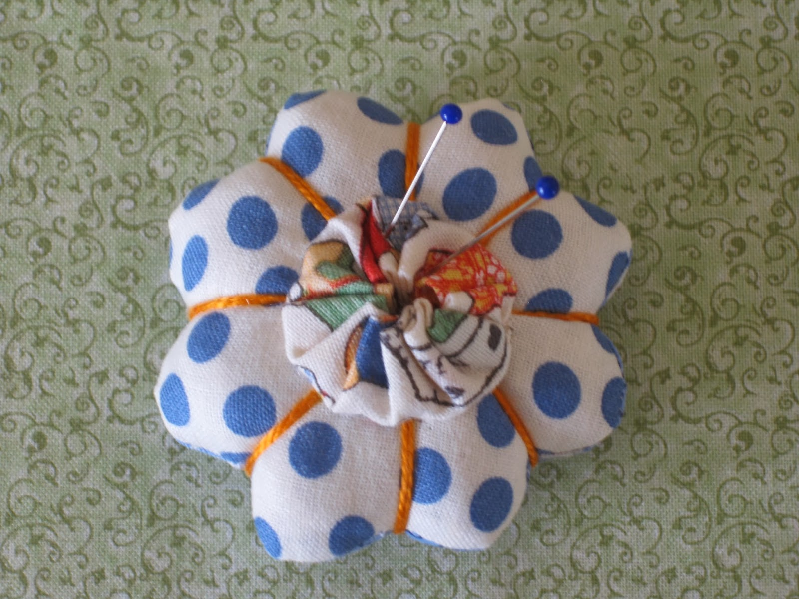 Finished pincushion