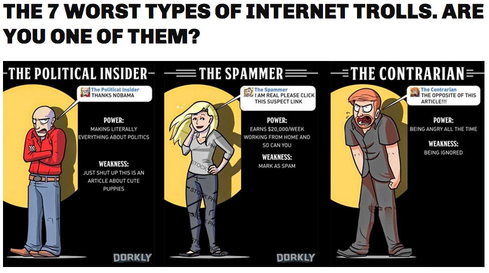 blog trolls