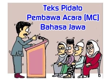 Teks Pidato Pembawa Acara (MC) Bahasa Jawa