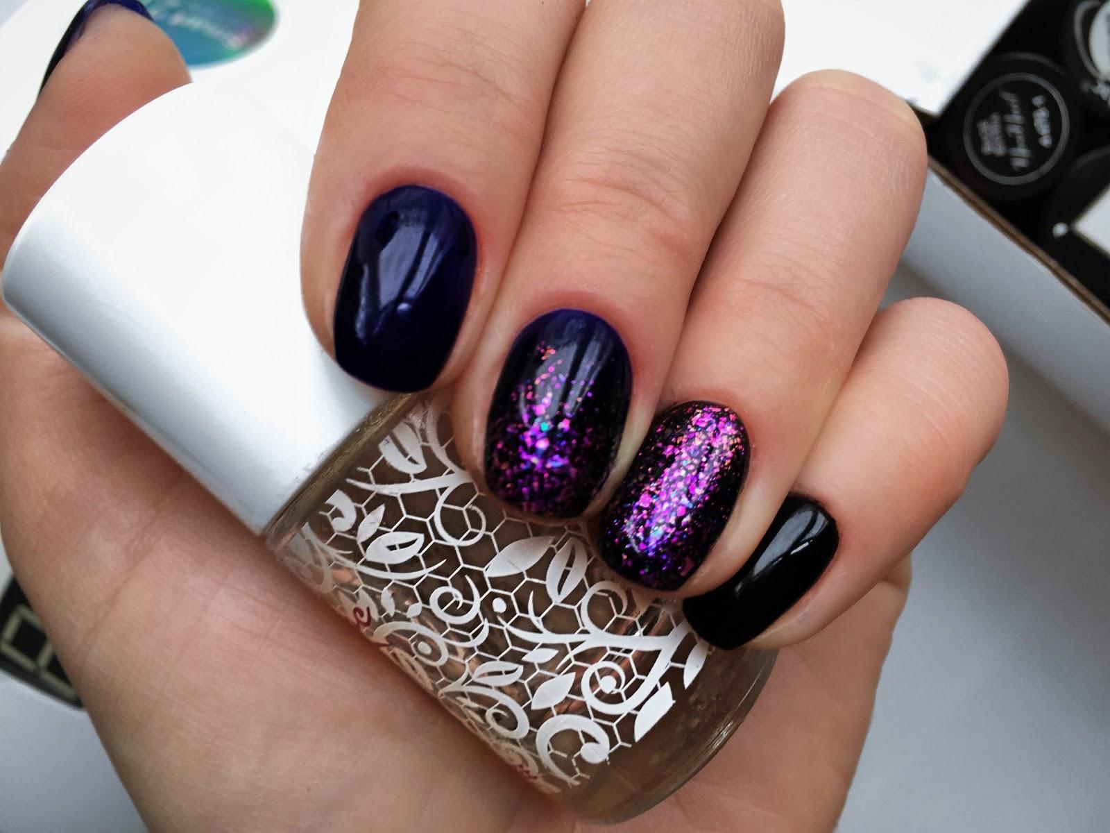 karnawałowe paznokcie