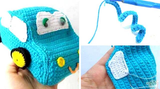 Amigurumi Carrito a Crochet