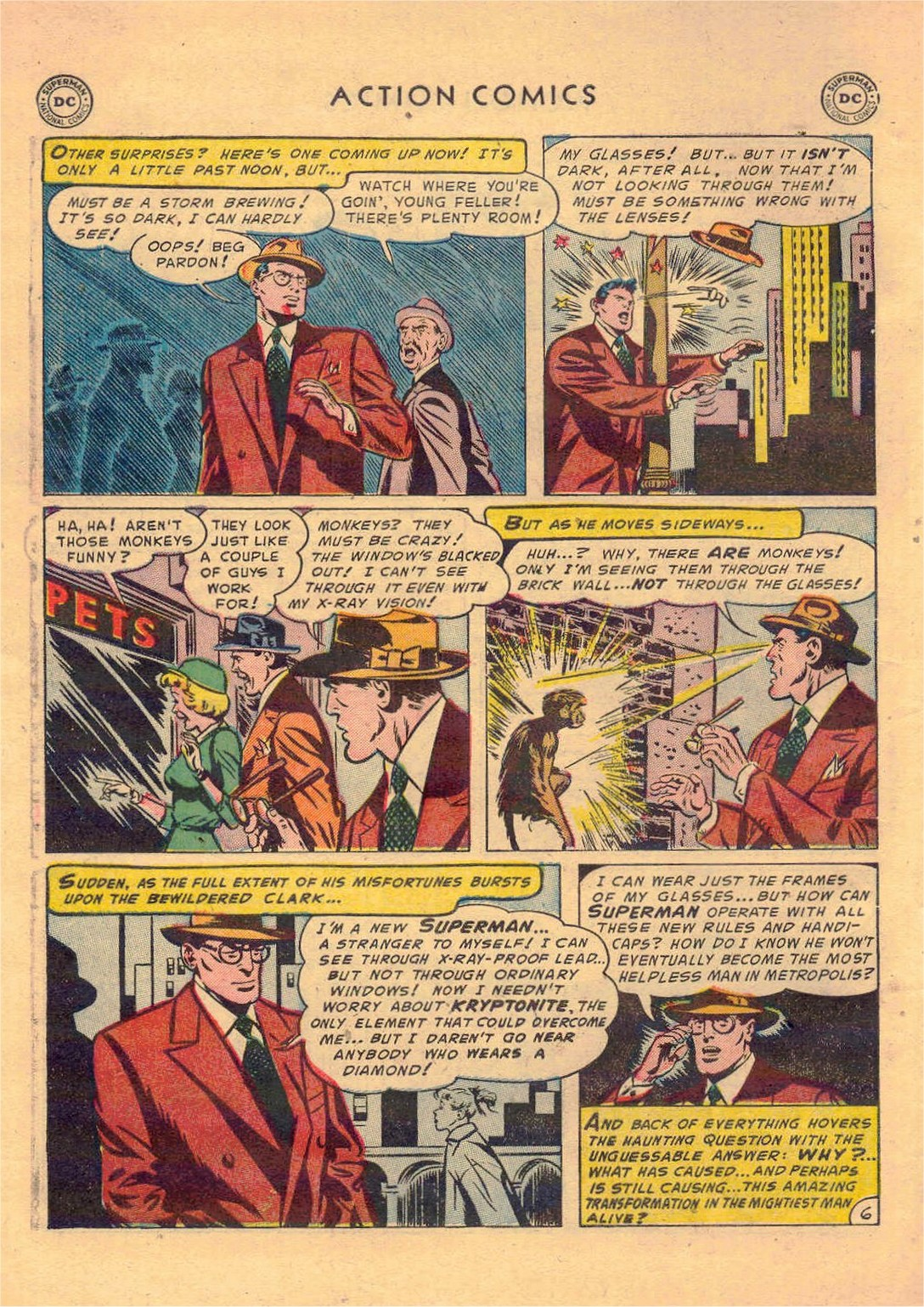 Read online Action Comics (1938) comic -  Issue #181 - 7