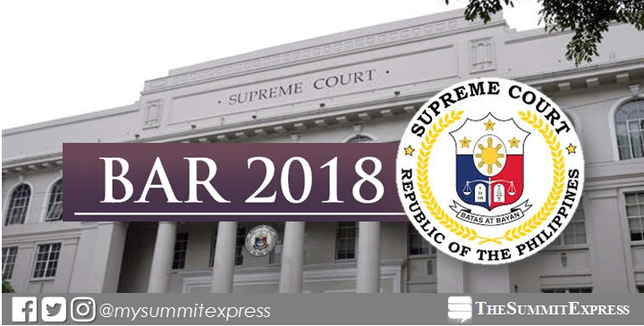 FULL LIST 8701 To Take November 2018 Philippine Bar Exam