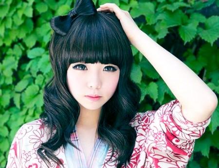 Gaya rambut perempuan ala korea 2018
