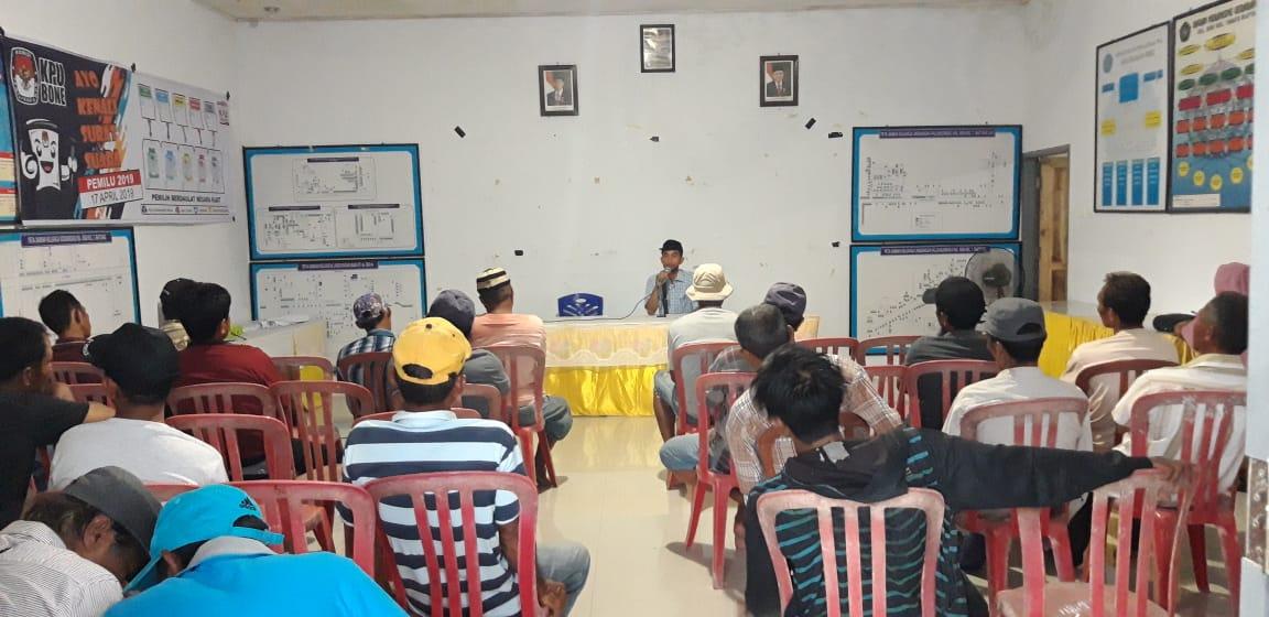 Bertekad Sukseskan Pemilu, PPS Kelurahan Biru Lakukan Pertemuan dengan PAM TPS
