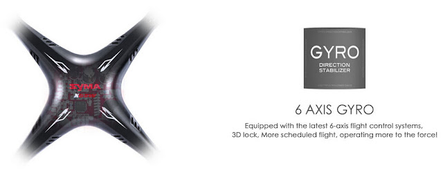 Spesifikasi Syma X5SW - GudangDrone