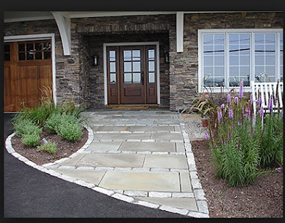 Pics Of Stone Patios Crushed Walls
