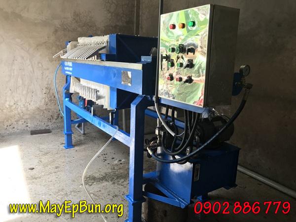 Máy ép bùn khung bản Việt Nam cung cấp và lắp đặt trọn gói cho Cty CP Dược Phẩm Cửu Long