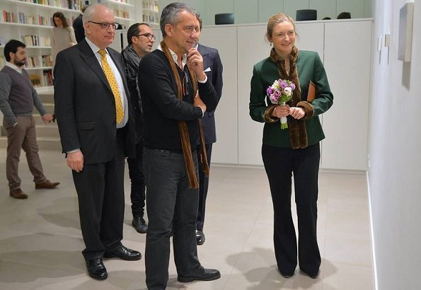 "Hereditary Grand Duchess Stéphanie visited ""Para Sempre"" exhibition held at Portuguese Camões Cultural Center"