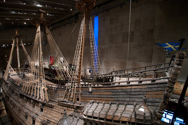 Vasa Ship Museum Stockholm Sweden