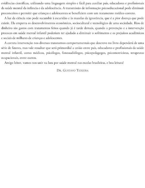 Manual dos Transtornos Escolares Dr Gustavo Teixeira Pdf