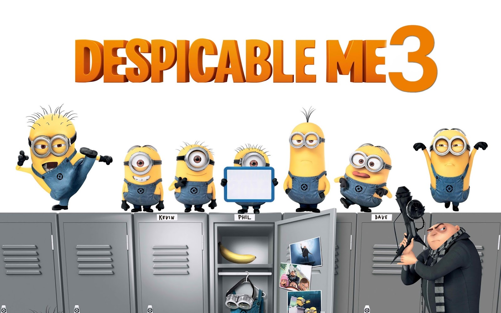 Despicable Me 3 has becoming the best opening for an animated movie
