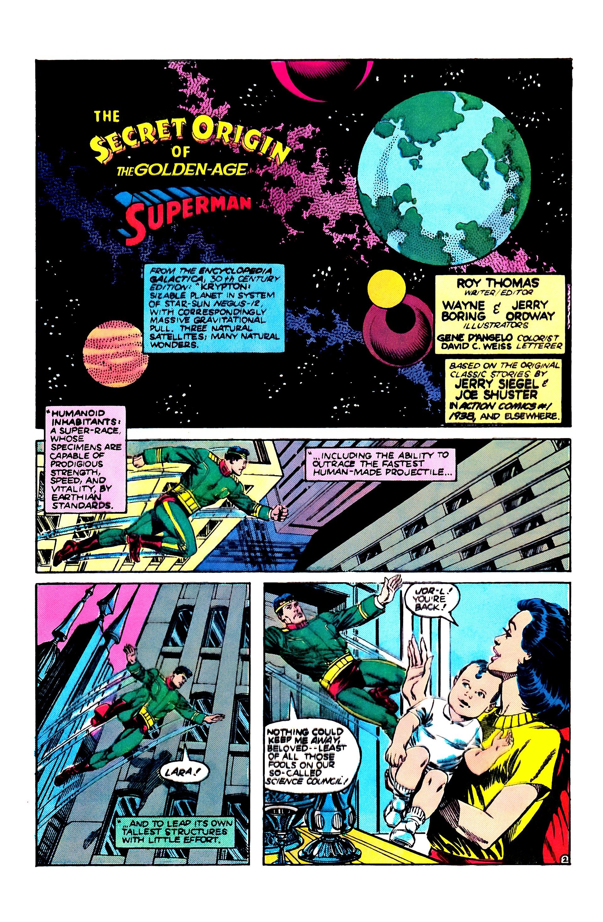 Read online Secret Origins (1986) comic -  Issue #1 - 4