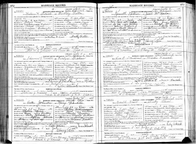 Image Result For California Marriage Records Familysearch