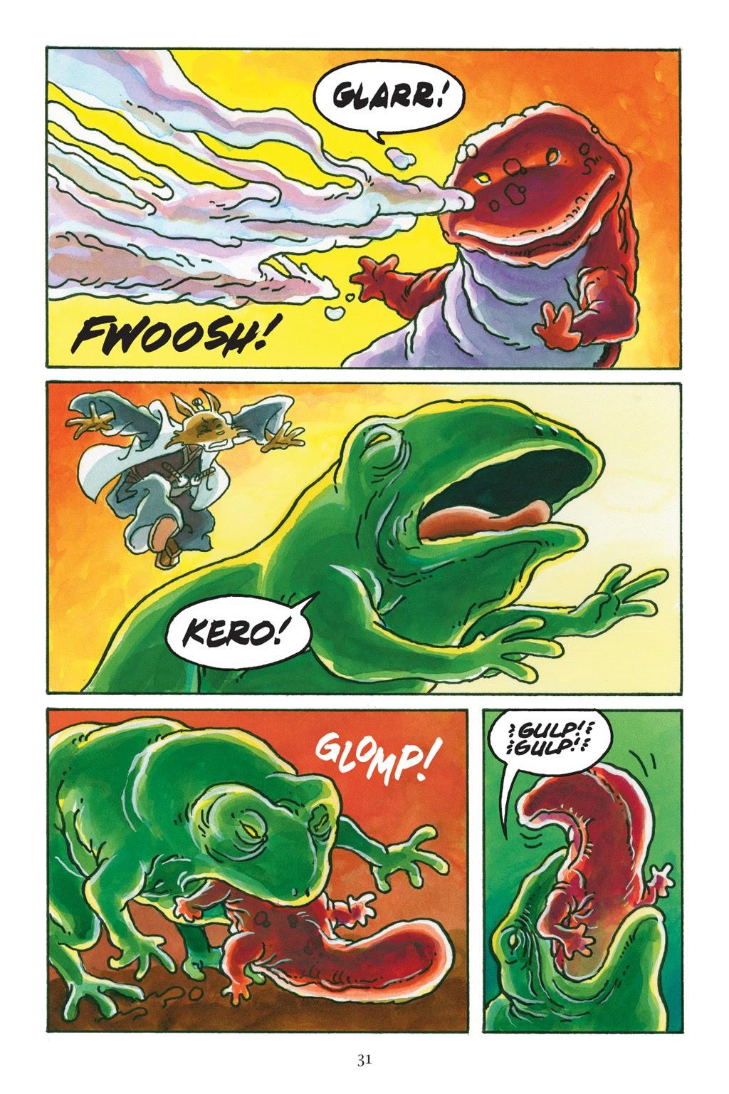 Read online Usagi Yojimbo: Yokai comic -  Issue # Full - 31