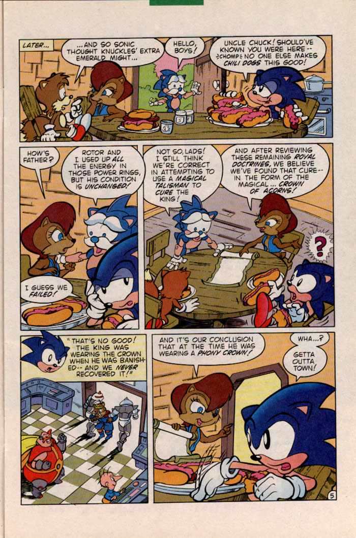 Archie's Sonic the Hedgehog, or The Ride MK II: SV Edition Comics