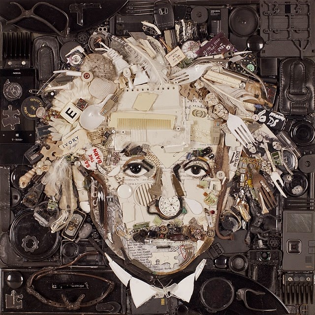 02-Albert-Einstein-Jason-Mecier-Paintings-or-Sculptures-in-Portrait-Collage-www-designstack-co