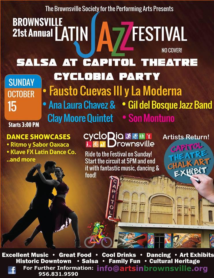 Gil Del Bosque Quartet at the Brownsville Latin Jazz Festival!