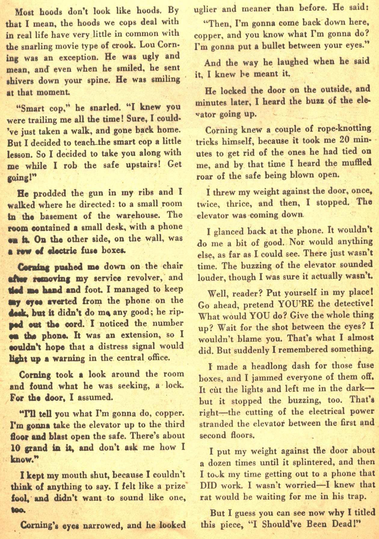 Read online Detective Comics (1937) comic -  Issue #206 - 31