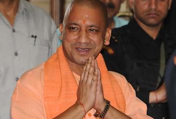 सीएम बनने के बाद पहली बार BJP ऑफिस पहुंची योगी