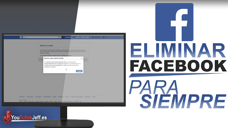 Como Eliminar mi Cuenta de Facebook para Siempre 2018 - Facil y Rapido