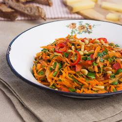 Salata od mrkve sa peršunom