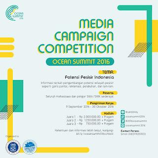 Ocean Summit 2016 - Media Campaign