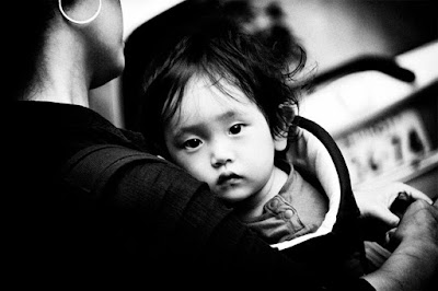 photography, black and white, contrast, baby, mother, childhood
