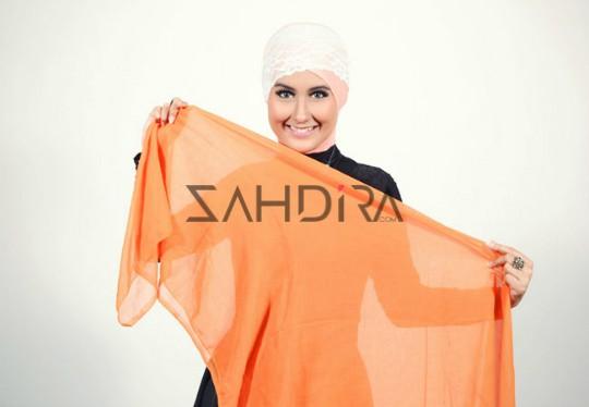 Cara Memakai Jilbab Turban