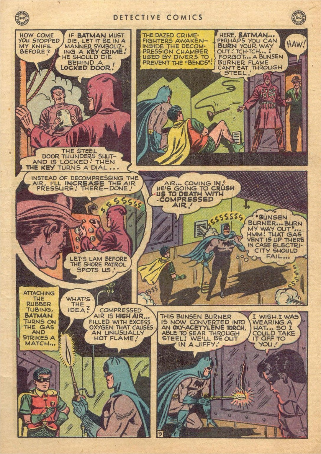 Read online Detective Comics (1937) comic -  Issue #132 - 11