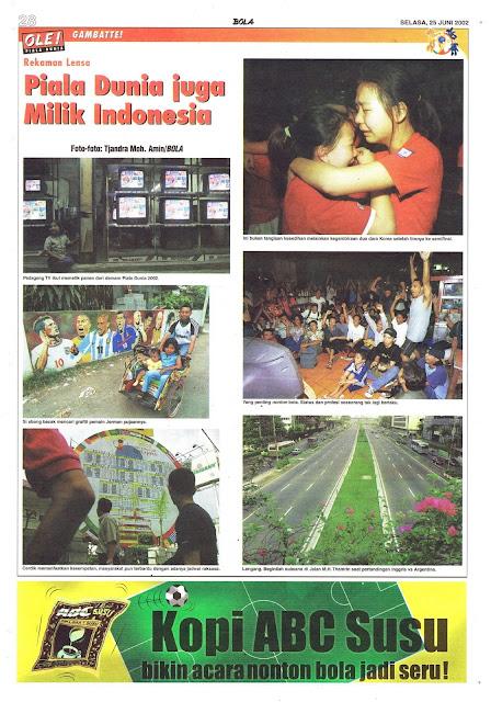 PIALA DUNIA JUGA MILIK INDONESIA